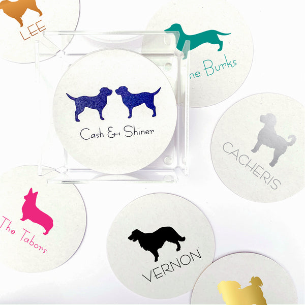 Personalized pet coasters