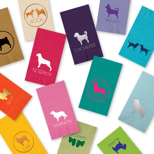 Personalized pet guest towels (3ply)