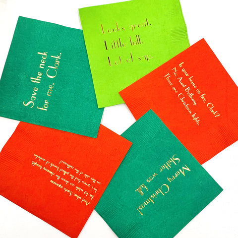 Christmas Vacation Napkins
