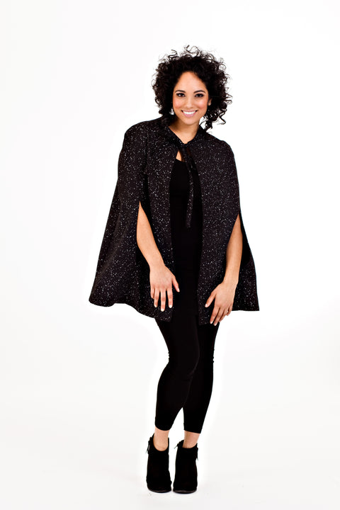 Joanne Cape - Black Dot   *70% OFF FINAL SALE