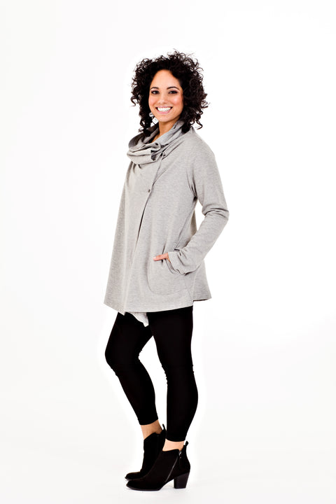 Solange Jacket - Grey   *70% OFF FINAL SALE