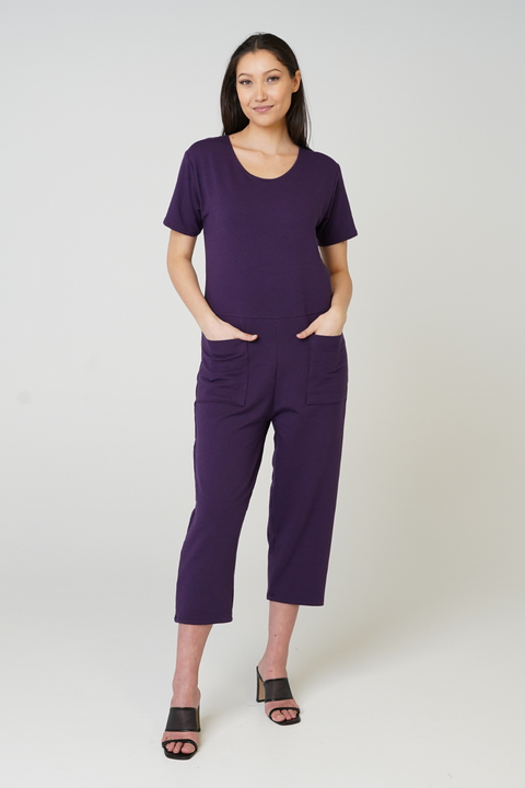 Mabel T-Shirt Overalls - 3 Colours