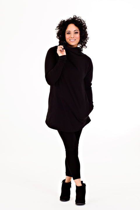 Marigold Sweatshirt - Black   *50% OFF FINAL SALE