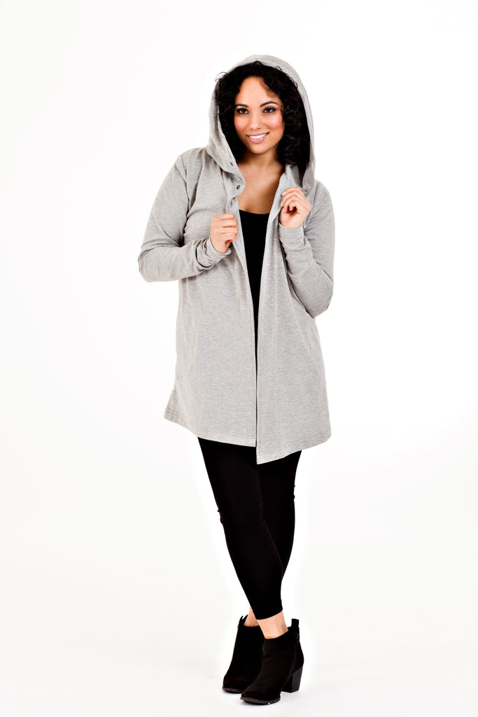 Clementine Jacket - Grey   *70% OFF FINAL SALE