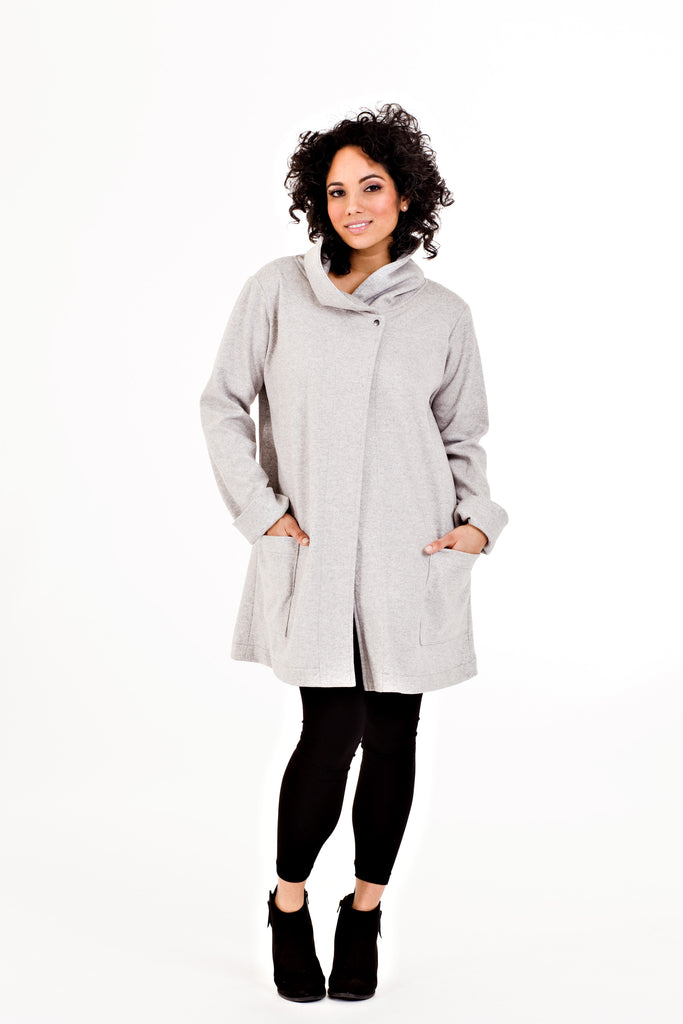Heather Jacket - Grey Moon Dust   *50% OFF FINAL SALE