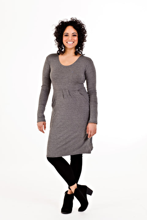 Rebecca Dress - Grey
