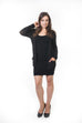 Ivy Short Cardigan - Black Knit