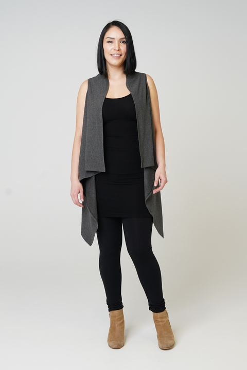 Agnes Sleeveless Cardigan - 3 Colours