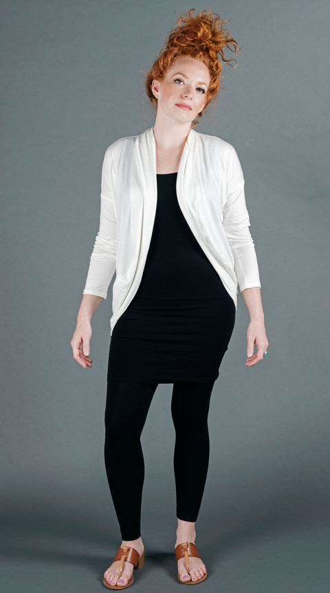 Tina Cardigan - White