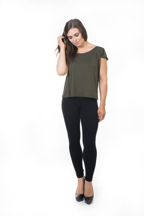 Pippa Top - Olive   *70% OFF FINAL SALE