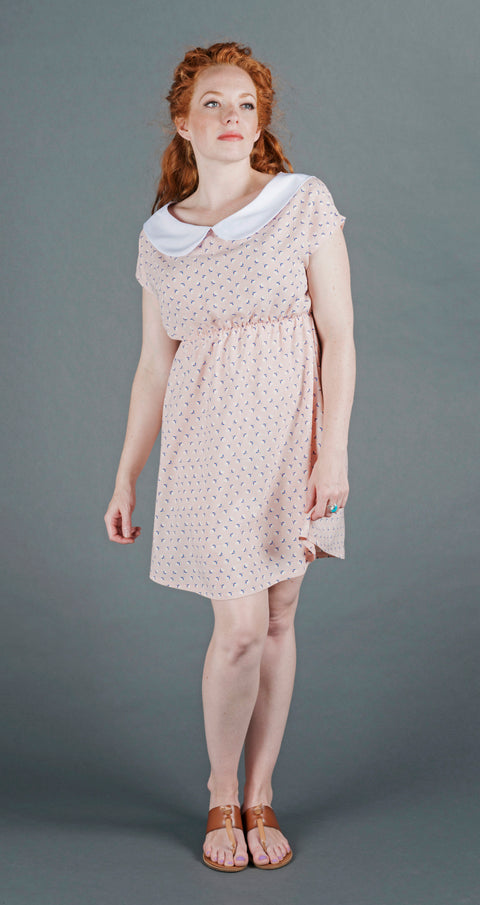 Willow Dress - Light Pink Tulip