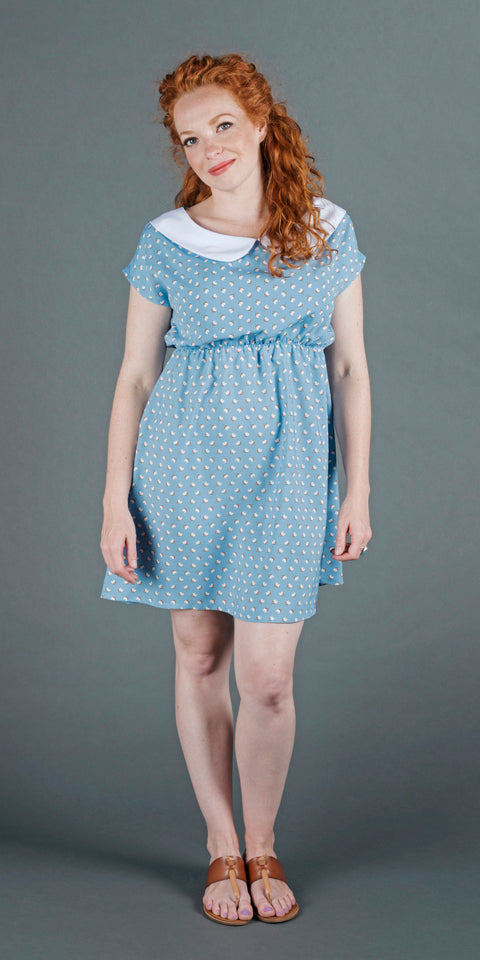Willow Dress - Light Blue Tulip
