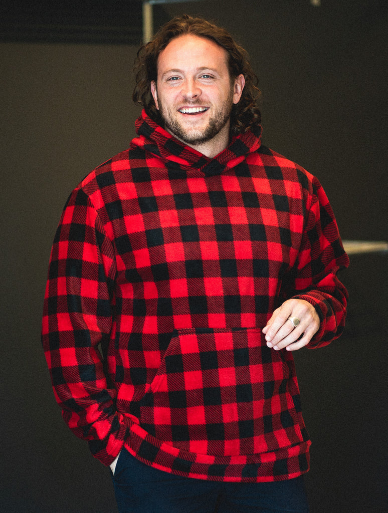 Jay Hoodie - 2 Buffalo Plaid Colours