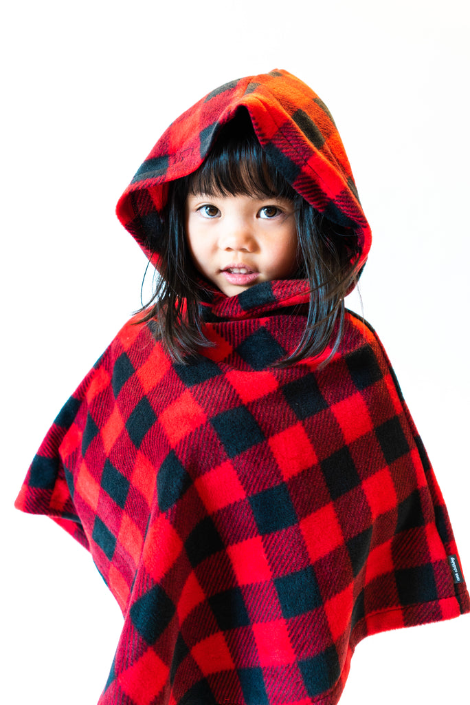 Bella Hooded Poncho - 4 Colours
