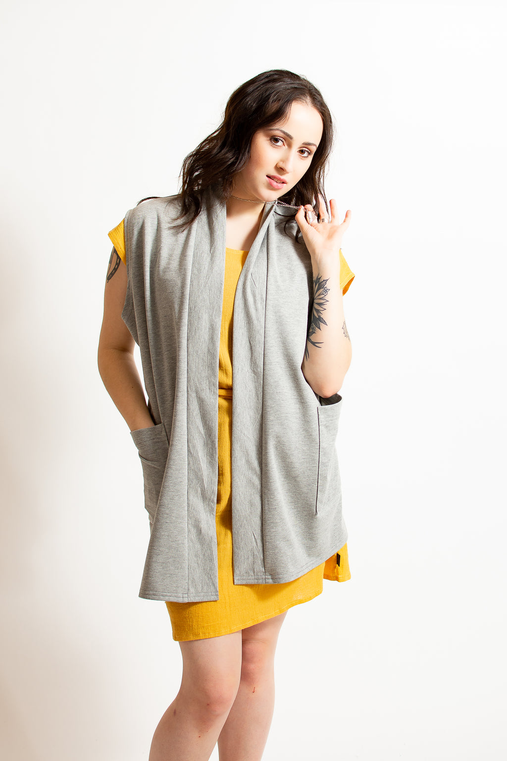 Ramona Sleeveless Cardigan - 6 Colours