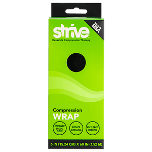 "Strive 6"" compression wrap product box"