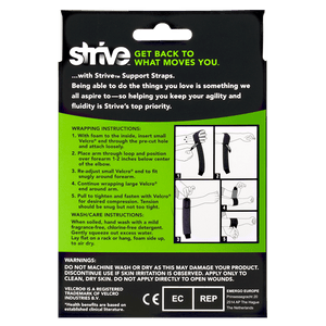 Strive Tennis Elbow Support Strap instructions