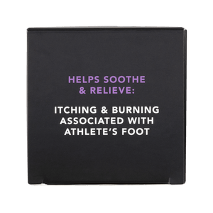 Athlete's Foot Cream relieves itching feet