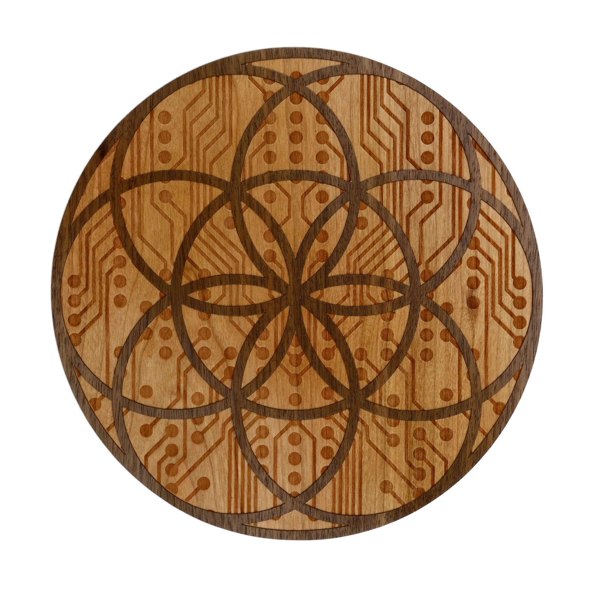 Seed of Life Wood Sticker