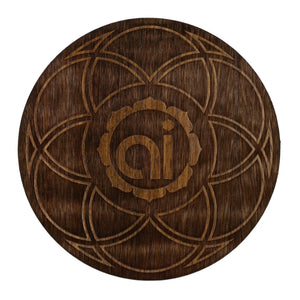 Seed of Life Wood Sticker Wood Sticker - Alternative Intelligence - aiapparel