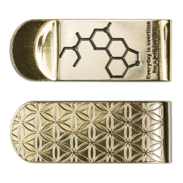 Everyday is overtime for a Jedi hustler Money Clip - Alternative Intelligence - aiapparel