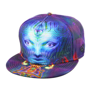 Heyoka Snapback Headwear - Alternative Intelligence - aiapparel