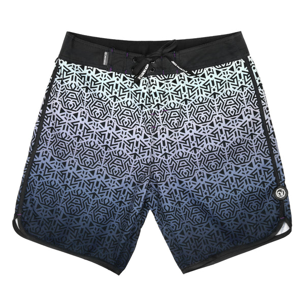 Blue Steel Boardshorts - Alternative Intelligence - aiapparel