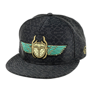 Scarab Fitted Headwear - Alternative Intelligence - aiapparel