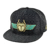 Scarab snapback hat by Alternative Intelligence and Jack Shure