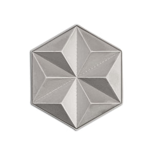 Asanoha Lapel Pin - Alternative Intelligence - aiapparel