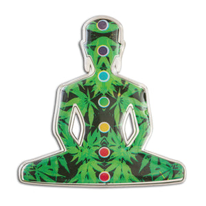 Blazer Buddha Lapel Pin - Alternative Intelligence - aiapparel