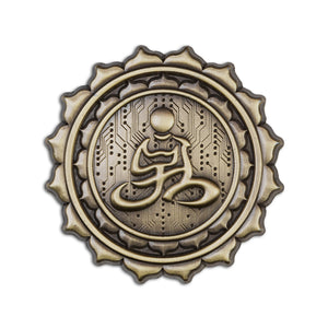 Desert Dwellers Lotus Lapel Pin - Alternative Intelligence - aiapparel