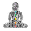 Digital Buddha 2.0 Lapel Pin - ALTERNATIVE INTELLIGENCE