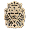 ill.Gates Crest Lapel Pin - ALTERNATIVE INTELLIGENCE