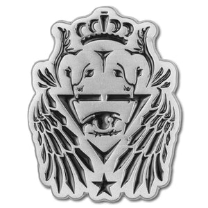 ill.Gates Crest Lapel Pin - Alternative Intelligence - aiapparel