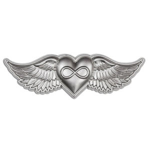 Infinite Heartspace Lapel Pin - Alternative Intelligence - aiapparel