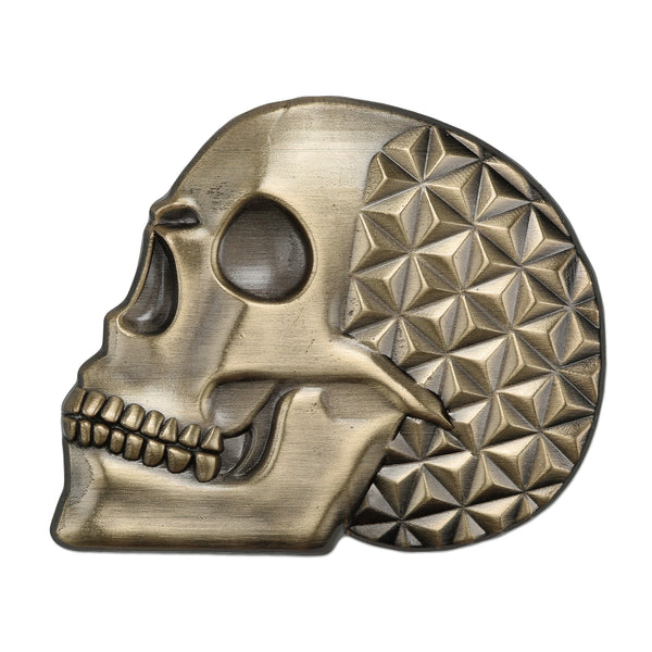 Asanoha Skull Lapel Pin - Alternative Intelligence - aiapparel