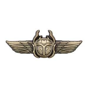 Scarab Lapel Pin - Alternative Intelligence - aiapparel