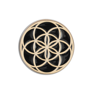 Seed of Life Lapel Pin - Alternative Intelligence - aiapparel