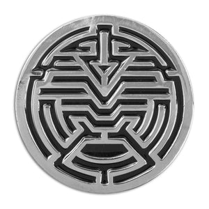 Sun Spirit Lapel Pin - Alternative Intelligence - aiapparel