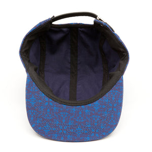 Seamless Blue 5-Panel Headwear - Alternative Intelligence - aiapparel