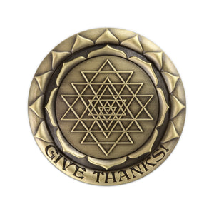 Give Thanks! Lapel Pin - Alternative Intelligence - aiapparel