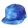 Blue Nebula Snapback Hat By Alternative Intelligence