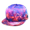 Red Nebula Snapback Hat By Alternative Intelligence