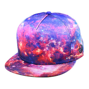Nebula Snapback [red] Headwear - Alternative Intelligence - aiapparel