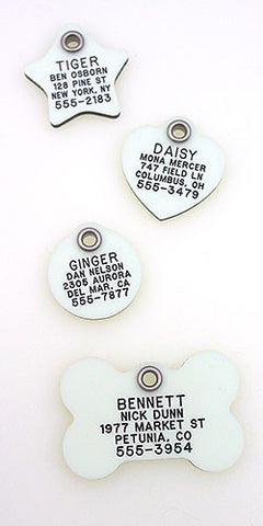 Glow In The Dark Plastic Tags