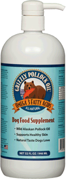 Grizzly Pet Pollock Oil