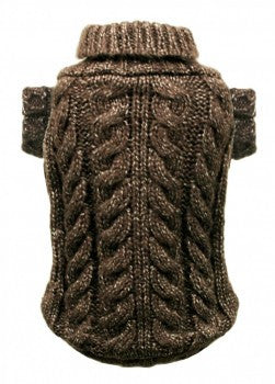 Angora Cable Knit Sweater