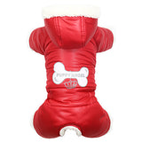 Puppy Angel Lovely Bone Padded Bodysuit For Boys (OW254)