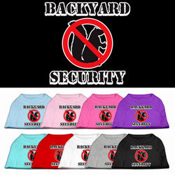 Backyard Security Tank Top